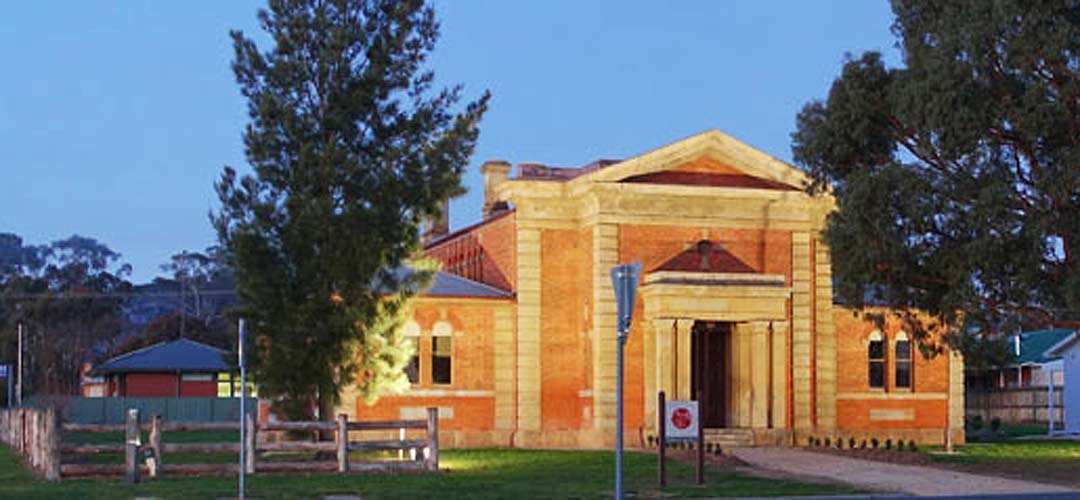 Dunolly Courthouse at Night