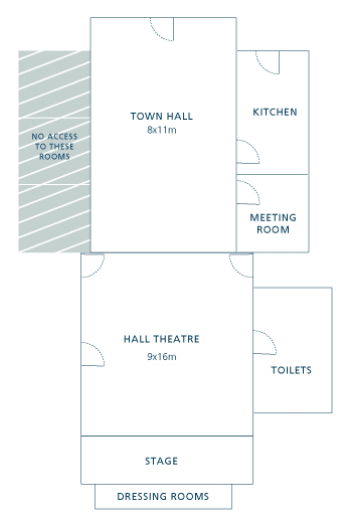 Town Hall Floorplan