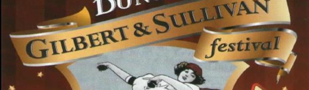 October's Gilbert and Sullivan Festival
